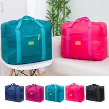 2019 New Men Women Nylon Hand Luggage Foldable Waterproof Travel Bag Compression Packing Cubes Large Capacity Luggage Bag