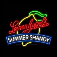 """Leinenkugel's Zomer Shandy Neon Sign Handgemaakte Real Glazen Buis Bar Winkel Home Restaurant Decoratie Display Neon Borden 31"""" X 24""""-in Neon Lampen & Buizen van Licht & verlichting op"""