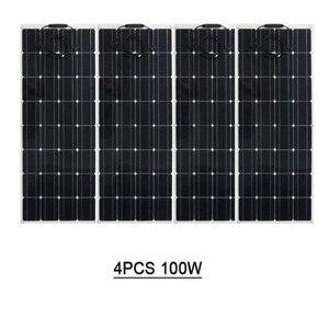 Especializada na produção de 100 w painel solar flexível, mono célula solar, com desempenho semi-macio