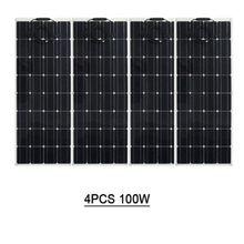 Especializada en la producción de 100 w panel solar flexible mono célula solar con semi-de rendimiento