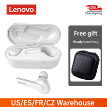 Lenovo HT28 Bluetooth Thật 5.0 Tai Nghe Không Dây TWS Tai Nghe Nhét Tai Điều Khiển Cảm Ứng Tai Nghe Thể Thao Tai Nghe Nhạc Tai Nghe Chụp Tai Kèm Mic 400MAh