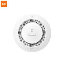 Оригинальный детектор дыма Xiaomi Honeywell, детектор пожарной сигнализации с дистанционным управлением, звуковая визуальная сигнализация, уведомления с приложением Mijia