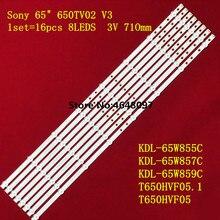 Светодиодный Подсветка полоса 8 лампа для Sony 65