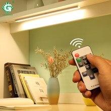 6W 8W 10W 12V światła podszawkowe LED 11 klucz pilot taśmy lampy szafka światła szafa kuchnia sypialnia oświetlenie nocne