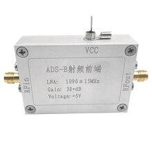 ADS B сигнал РЧ усилитель мощности аксессуары модули Стабильный инструмент передний конец частоты радио Низкий уровень шума Электрический Vedio 1090 МГц