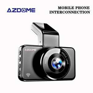 AZDOME M17 Dash Cam 3 Inch Dual Lens Cámara del coche Wifi Night Vision 1080P Video Recorder 24H Parking Monitor Car Dvr Camera