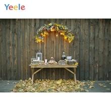 Yeele Christmas Photocall Flower Decor Wood Lantern Photography Backdrops Personalized Photographic Backgrounds For Photo Studio