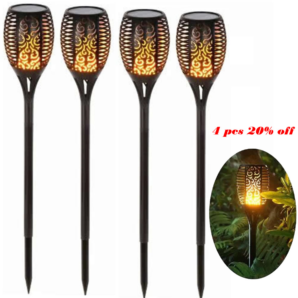 cheapest Outdoors Led Solar Lights Outdoor Solar Led Lawn Lamps Street Lighting Luminaria For Garden Decoration Solar Powered Path Lights