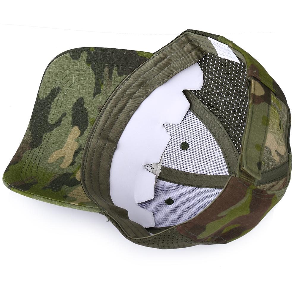 Skull Tactical Military Airsoft Cap Adjustable Breathable Sun Visor Trucker Hat Mesh Hunting Hiking Baseball Skeleton Snapback 42