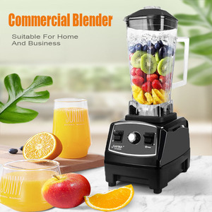 Image 2 - BPA free 2200W Heavy Duty Blender do zastosowań komercyjnych profesjonalny mieszalnik robot kuchenny japonia ostrze sokowirówka Ice Smoothie Machine