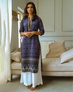 Indian Ethnic Blouses  Long Kurti for Women Clothing