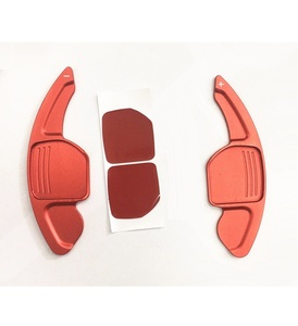 Image 5 - עבור מושב אלהמברה Ateca ליאון MK3 5F FR אלומיניום סגסוגת Shift משוט הגה הארכת שיפטר