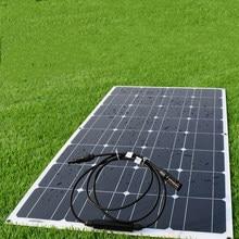 Super full power 100W 18V portable solar panels 200W 300W 400W 600W, RV travel, camping, home photovoltaic panels