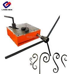 LC W12 metalowe kucie ręcznie ręczne przewijanie gięcie narzędzia do skręcania europejski sprzęt z kutego żelaza w Zestawy elektronarzędzi od Narzędzia na