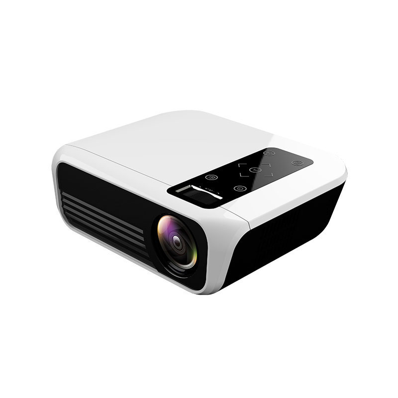Top T8 Full HD LED Projector Android Portable Video Projector 1920 X 1080P HDMI Mini Projector 4K 5000 Lumens Home Cinema Media