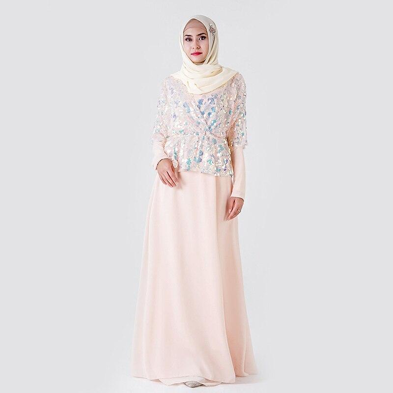 Splice Sequin Abaya Dubai Hijab Muslim Dress Islamic Clothing Abayas For Women Turkish Dresses Caftan Kaftan Baju Muslim Wanita
