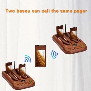 Image 4 - Retekess T116 restoran çağrı cihazı kablosuz çağrı sistemi çağrı kuyruk sistemi müşteri hizmetleri çağrı cihazı restoran kilise Cafe Shop