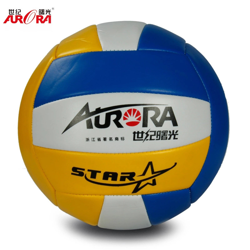 Zhejiang Dawn Sports Supplies Wholesale PVC Machine Sewn Volleyball Primary Standard Gas Volleyball Price Preferential Price