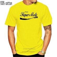 Наслаждайтесь супермото-Футболка-новые варианты мужской футболки 2020 Лето 100% хлопок повседневные топы с коротким рукавом футболки