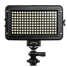 Viltrox VL 162T 카메라 LED 비디오 라이트 LCD 패널 3300K 5600K 바이 컬러 디 밍이 가능한 캐논 니콘 소니 DSLR 사진 캠코더