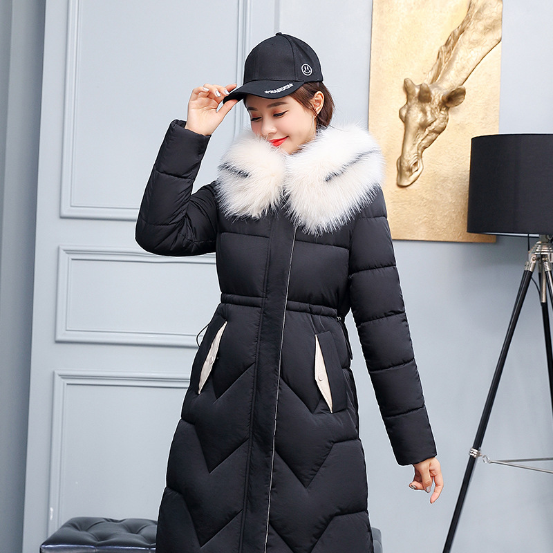 2019 Winter Down Jacket Women Hat Ultra Light Duck Pure Down Warm Female Down Coat Female Outwear Long Sleeve