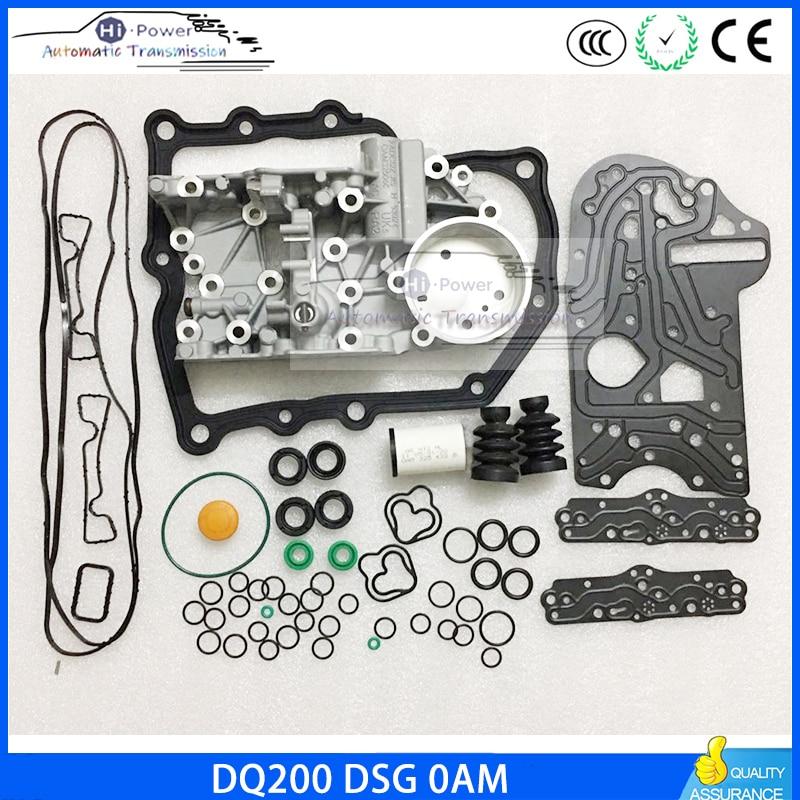 DQ200 OAM DSG Transmission Housing   Gearbox Overhaul Gasket Filter Rubber Ring Dirt-proof Cover Kit For Audi Skoda 0AM325066AC