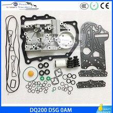 Carcasa de transmisión DQ200 OAM DSG + filtro de junta de reparación de caja de cambios, Kit de cubierta a prueba de suciedad para Audi Skoda 0am32506ac