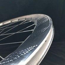 454 clincher t900 ud 700c 58mm profundidade dimple superfície freio a disco de fibra carbono rodas da bicicleta estrada disco rodado com eixo hub