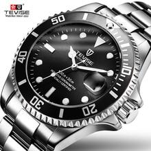 TEVISE automatique mécanique montres plongeur montre sport luxe Top marque hommes montres plongée homme montre bracelet Relogio Masculino