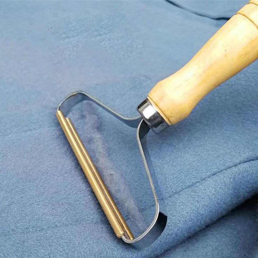 Ручная машинка для бритья, триммер для одежды, кашемировое пальто, финишная кисть, одежда для бритья, для удаления шариков, цвет древесины