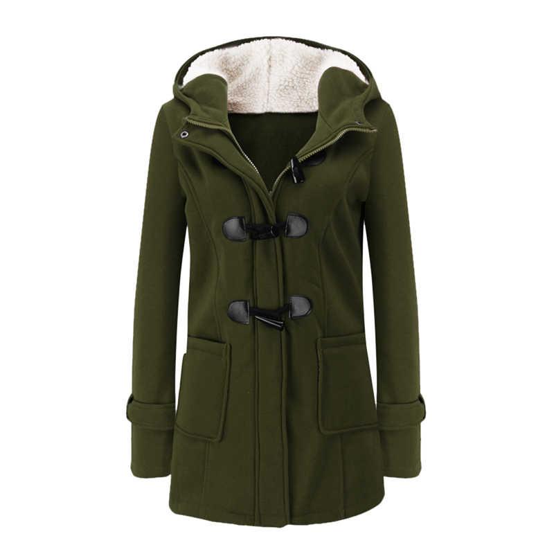 SFIT 付き冬のパーカープラスサイズの女性厚い女の子雪のコートの綿のジャケットファッションロングオーバーストリート女性固体女性トップ