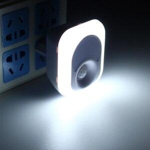 Image 3 - LED לילה אור עם חיישן תנועת PIR אדם אינפרא אדום הופעל אור חיישן קיר חירום מנורת התוספת מנורת קיר עבור שינה
