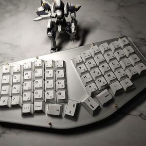 Image 1 - Minimalista Bianco Giapponese Keycaps per Keycap Tastiera Meccanica PBT Sublimazione Chiave Cap Cherry Profilo