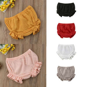Shorts Bloomers Ruffles Toddler Baby-Boys-Girls Panties Bottoms Summer Infant Fashion