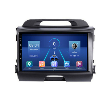4G LTE Android 10.1 For KIA Sportage 2009 2010 2011 2012 - Multimedia Stereo Car DVD Player Navigation GPS Radio image