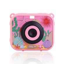Полноразмерная детская камера, цифровая видеокамера, 1080 P, HD защита от падения, водонепроницаемая портативная детская мини-камера, 2,0 дюймов