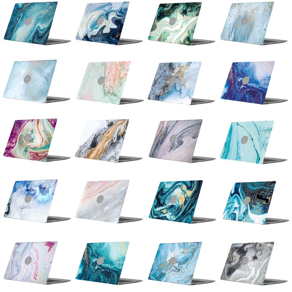 Marble Pattern Laptop Case For Fundas Huawei Matebook 13 Inch Plastic Protective Shell For HUAWEI Matebook 13 WRT-W19 Case