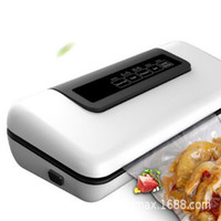 Household Fresh keeping Automatic Vacuum Sealing Packaging Machine for Food Preservation Dry, Wet, Soft Food, with 10 Free Bags