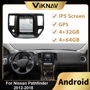 Android Car Radio Tape Recorder for Nissan Pathfinder 2012 2013 2014 2015 2016-2018 Auto Stereo Receiver Multimedia Player GPS image