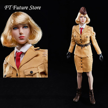 Collectible In Stock 1/6 Sexy Female Solider Identity V Womens Air Force Head Clothes Set for 12 VERYCOOL Largest Bust Body