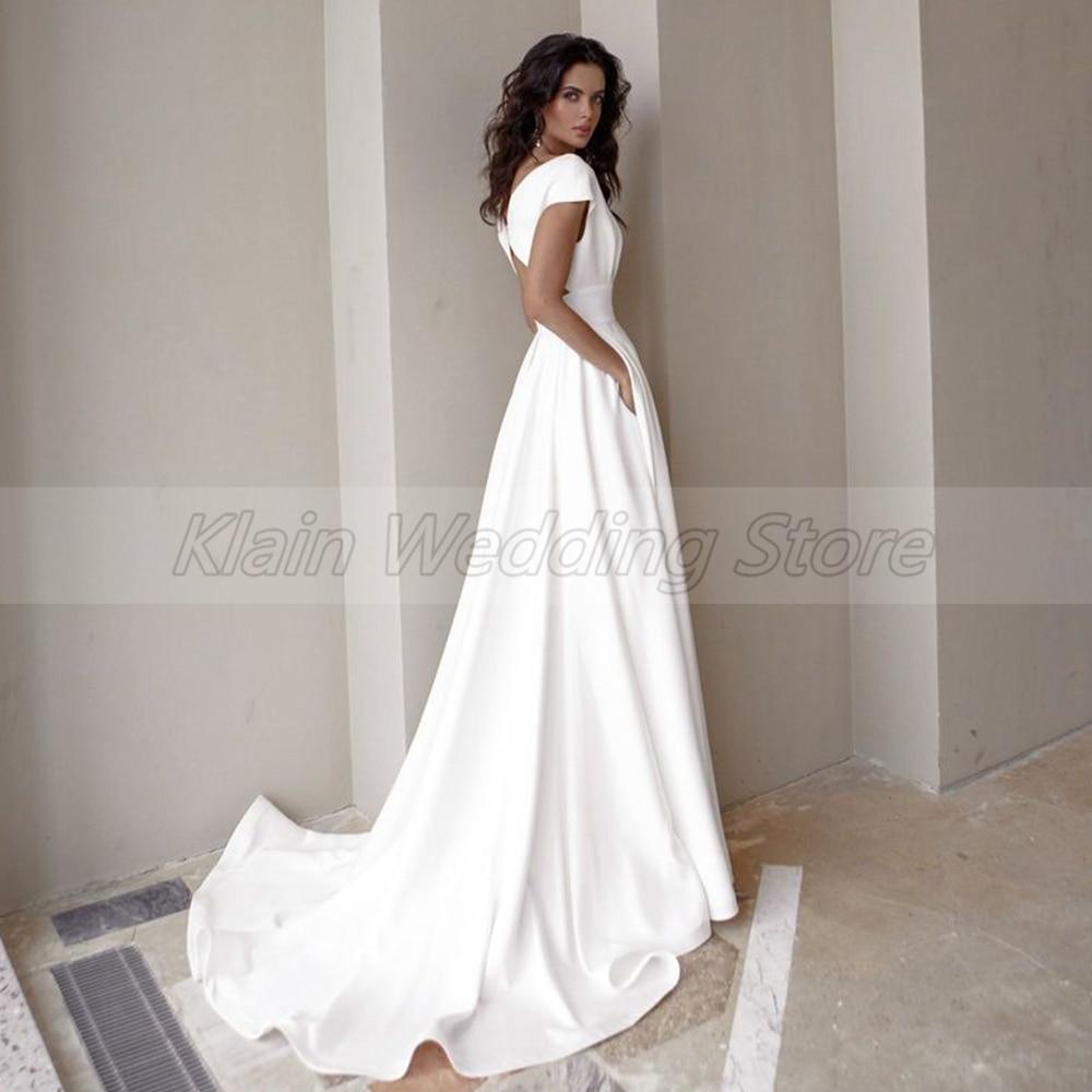 Wedding Dress Fashion Short Sleeve  2