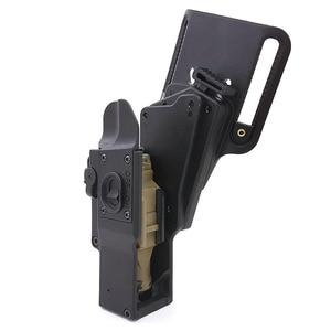 Image 3 - Arma táctica funda de caza. Compatible con pistola, se puede almacenar con (linterna XH15/XH35/X300UH B) para el usuario del lado derecho