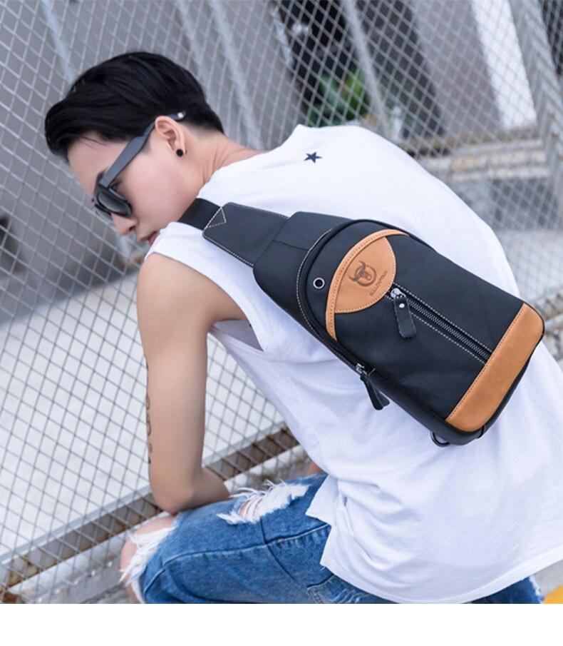 de ombro moda couro genuíno sacos crossbody