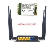 Routeur WiFi LTE ZBT WE826-Q-MC7455 CAT6 300Mbps, WE826-Q, MC7455