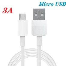 Микро USB кабель для быстрой зарядки и 3A микро usb шнур для Samsung S7 Xiaomi Redmi Note 5 Pro Android телефонный кабель Micro USB зарядное устройство