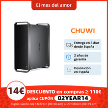 CoreBox CHUWI, Mini ordinateur de bureau Intel Core i5, Windows 10, DDR3 8 go, SSD 256 go, extension de stockage disque dur 2.5 pouces, Gigabit Ethernet