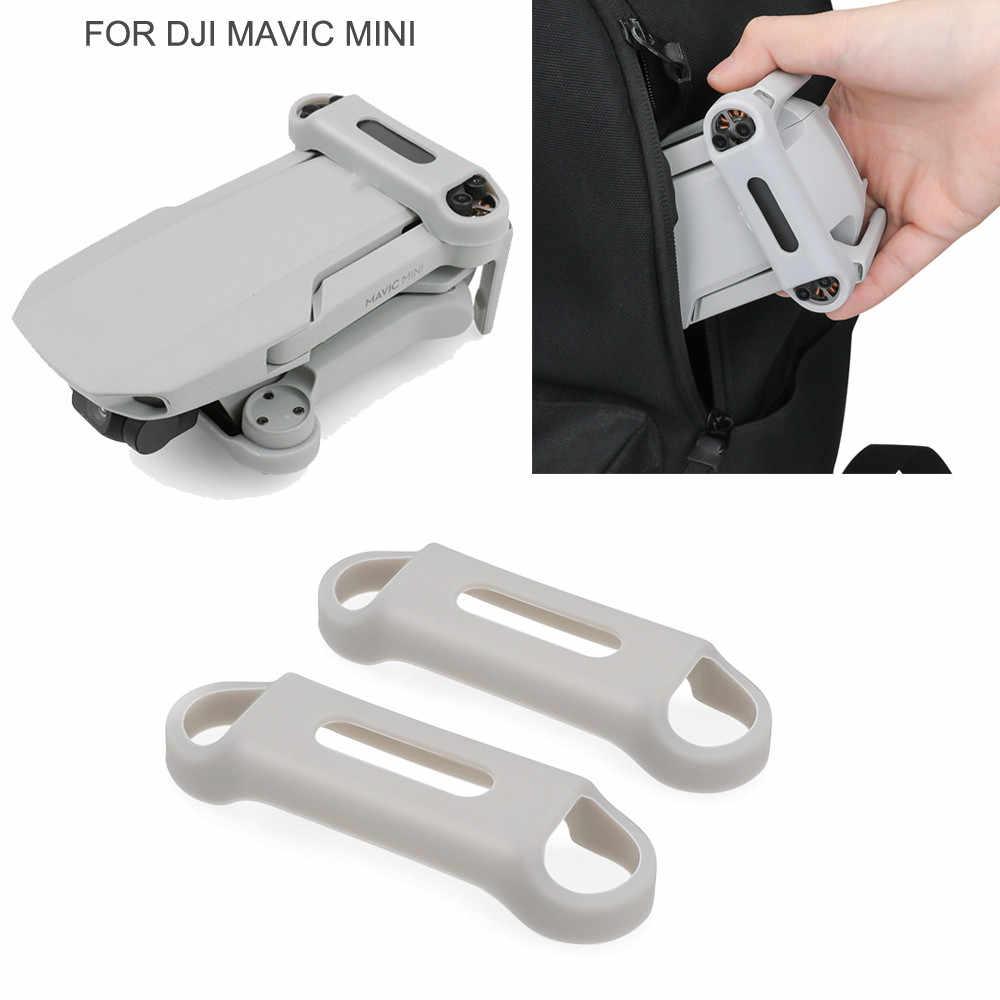 ใบพัด Stabilizer สำหรับ DJI Mavic MINI Drone ใบมีด Props Protector ซิลิโคนซอฟท์ซิลิโคนฝาครอบ Drone อุปกรณ์เสริม