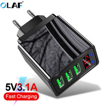 OLAF Quick Charge 3 0 18W QC 3 0 4 0 Fast charger USB portable Charging for iPhone X XR Mobile Phone Charger for Huawei P20 lite cheap Travel A C Source ROHS USB Charger Fast charging charger Qualcomm Quick Charge 3 0 100-240V 0 6A Mobile Phone USB Charger