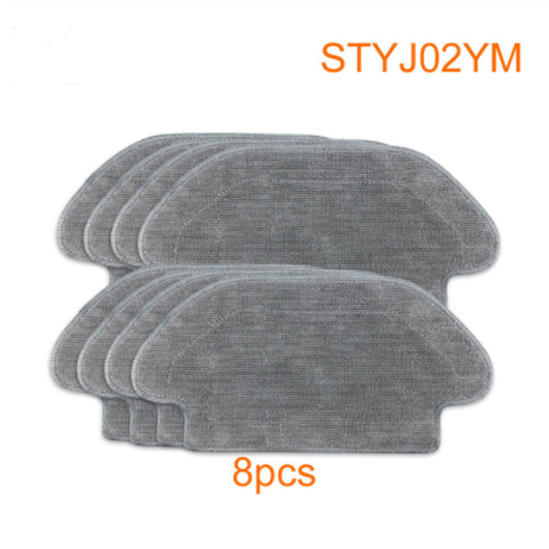 Set-robot STYJ02YM Vacuum Cleaner  Cleaning Cloth Is Suitable For Robot Dry And Wet 2 Cleaning Cloth Robot STYJ02YM Parts