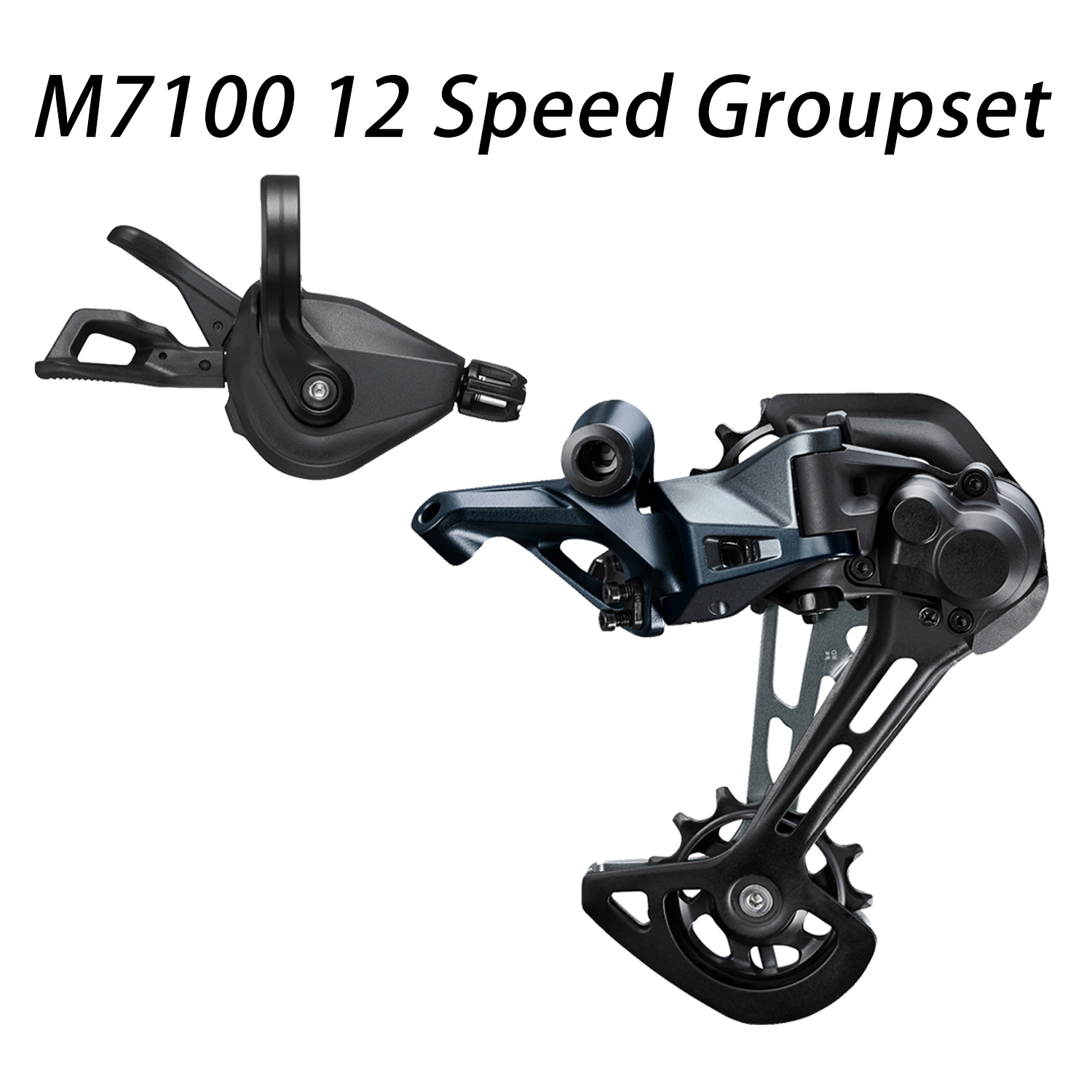 SHIMANO SLX RD M7100 SGS 1x12 12 SPEED MTB Bicycle REAR DERAILLEUR LONG CAGE